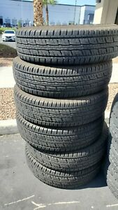 Six Used Take Off General Grabber Hts 235 80r17 120 R Tires