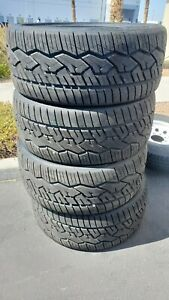Four New Take Off Nitto Nt420v 305 35r24 112h Xl Tires