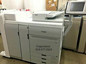 Canon Imagepress C850 Color Copier W booklet Finisher Fiery
