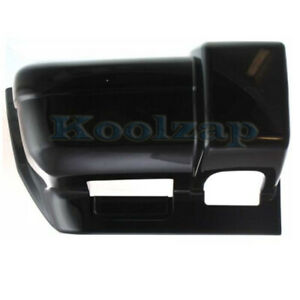 97 01 Cherokee Front Bumper Face Bar Extension End W O Foam Absorber Right Side