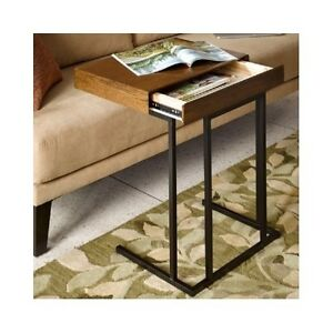 Laptop Tv Desk Sofa Table Portable W storage Drawer Kids Couch Tray Snack Table