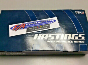 Hastings 2m5529 030 Chevy 400 Sb 402 Bb 4 125 Bore Plasma Moly Piston Ring Set