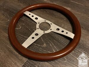Personal Collaudo 335mm Wood Steering Wheel Vintage Rare Nardi Momo