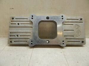 Vintage Weiand Blower Plate Aluminum Supercharger 1x4