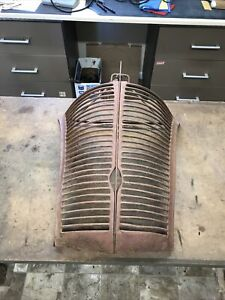 Genuine 1939 Standard 1938 Ford Deluxe Grille Coupe Sedan