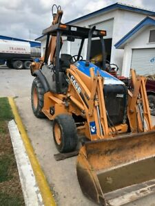 Case 580m Loader Backhoe 2010 Series 3 Used In Very Good Condition