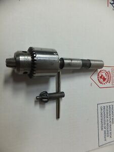 Jacobs 1 4 No 1a Drill Chuck Machinist Lathe Mill Woodworking Tools