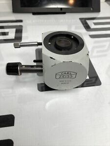 Zeiss 910137 Dual View Microscope Lens Assembly For Standard Gl Wl Microscope