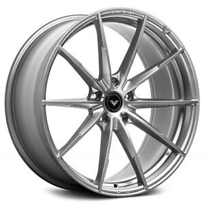 Fits 16 19 Bmw G12 7 series 22 Vorsteiner V ff 109 Wheels Zara Gray 4 Pcs
