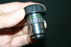 Fisher Microscope 20x Plan Php Phase Contrast Objective New