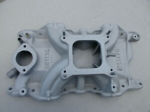 Hi rise Old Weiand Intake Manifold 7510 Mopar 340 360 Demon Dart Duster Single P
