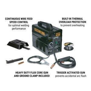 Chicago Electric Flux 125 Welder 120v Wire Feed Usa Seller Ship From Usa