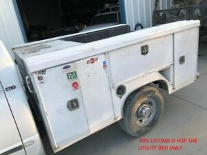 8 Ctec Utility Service Body Bed Single Rear Wheel From 99 Dodge Ram 2500