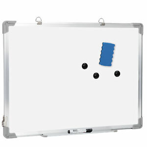 Magnetic Whiteboard 18 X 24 Inch Dry Erase White Board Wall Hanging Board