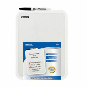 Whiteboard 8 5 X 11 Small Dry Erase White Board With Marker Note Class Student