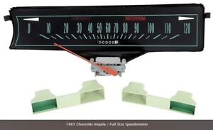 1965 Chevy Impala Replacement Speedometer By Oer 6408852