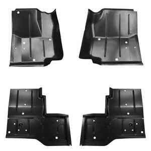 Front Rear Floor Pan Kit For 87 95 Jeep Wrangler 76 86 Jeep Cj7