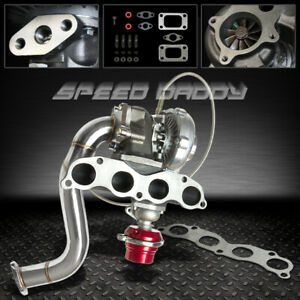 T04e Turbo Kit Manifold Downpipe Wastegate 06 11 Honda Civic Si Fa5 Fg2 K20z3