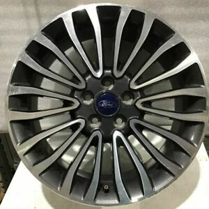 2017 2018 Ford Fusion 10121 Wheel 18 Rim Charcoal Machined Oem Hs7z1007c