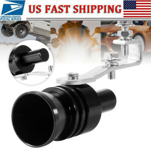 1 Blow Off Valve Noise Turbo Sound Whistle Simulator Muffler Tip Car Accessory