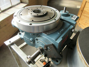 Camco Emerson 601rdm8h24 270 Rotary Table Indexer Drive With Baldor Dc Motor