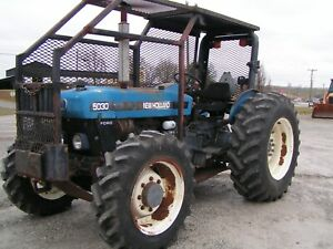 New Holland Ford 5030 Farm Tractor 4x4 65 Hp Forestry Package