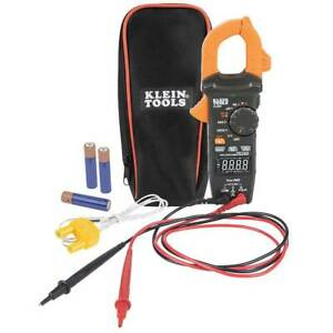 Klein Cl390 Ac dc High Visibility Digital Clamp Meter Auto ranging 400 Amp