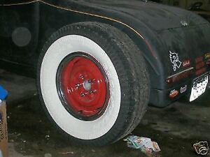 Rat Hot Rod Gasser Paint Wide White Wall Tires Chevy 38 39 40 41 46 47 48 Truck
