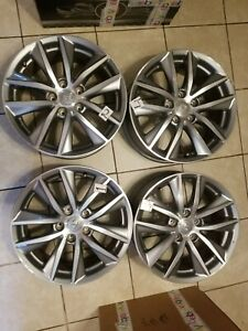 2014 2020 Infiniti Q50 17 Wheels Rims Factory Oem Set Of4 Free Shipping Read