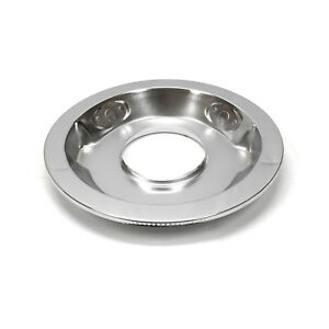 14 Chrome Drop Recessed Air Cleaner Base