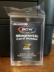 Bcw One touch Thick Card 180pt Point Magnetic Card Holder
