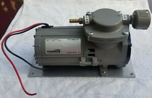 Thomas Diaphragm Vacuum suction Pump 107cdc20 12v 9 7a Works Great