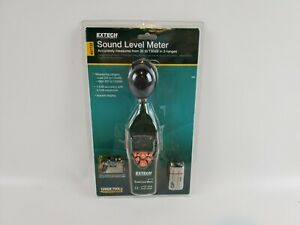 Extech 407732 Type 2 Digital Sound Level Meter 35 To 130 Db Brand New