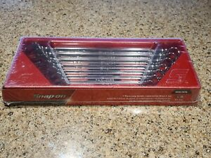 New Sealed Snap On Sae Long Combination Wrench Set 3 8 3 4 Oexl707b