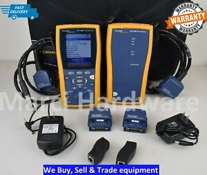 Fluke Dtx 1800 Fiber Cable Analyzer And Smart Remote Fast Shipping