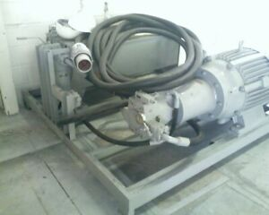 Hydraulic Pump System Built By Rg Group Parker Axial Piston Pump Us Electric M