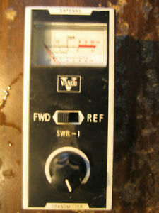 Vanco Swr 1 Meter Vintage Electronic Test Equipment