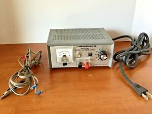 Micronta 22 126 Solid State Variable Dc Power Supply 0 12 12 24 Volts Dc