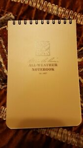 Rite In The Rain 946t All weather Universal Spiral Notebook Tan 4 X 6