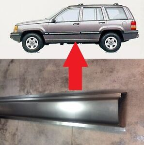 Sill For Jeep Grand Cherokee I Zj 1993 1998 New Outer Sills Replacement