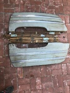 1946 49 Buick Special Rear Fender Skirts W Trim Moulding