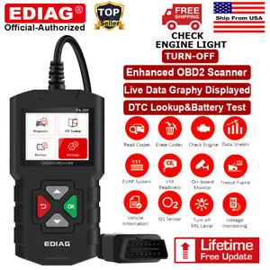 Automotive Obd2 Scanner Obd Code Reader Check Engine Fault Diagnostic Scan Tool