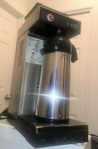 Boyds Commercial Pourover Coffee Maker With Airpot Insulated Dispenser Stainless