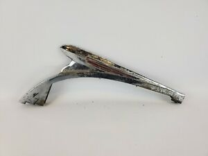 1939 1940 Chrome Hood Ornament For Chevy Pickup Truck Vintage No Bolt Holes