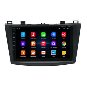 9 Inch Android Car Wifi Dvd Radio Stereo Gps Navi Player For Mazda 3 2010 2013