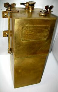 Rushmore Brass Carbide Acetylene Generator Stanley Cadillac Thomas Model T Ford