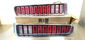 1973 1974 Charger Se Tail Lights nos used
