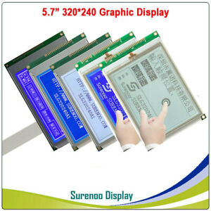 5 7 320x240 320240 Ra8835 Graphic Lcd Module Display Screen Lcm Touch Panel