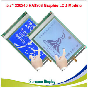 5 7 320x240 320240 Graphic Lcd Module Display Screen Lcm Ra8806 Touch Panel