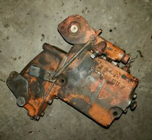 Allis Chalmers Wd Wd45 Tractor Hydraulic Pump Vavle Port Outlet Works Good